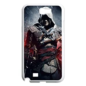 samsung n2 7100 phone case White Assassin Creed ZLS2905372