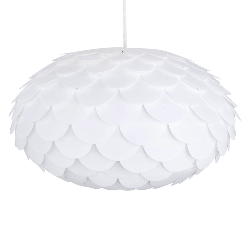 Modern designer white armadillo artichoke ceiling pendant light modern designer white armadillo artichoke ceiling pendant light shade amazon lighting aloadofball Images