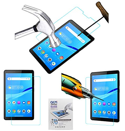 Acm Tempered Glass Screenguard Compatible with Lenovo Tab M7 Tablet