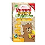 vitamin d kids - Yummi Bears Organics Vegetarian Vitamin-D Gummy Vitamin Supplement for Kids, Gummy Bears, 60 Count