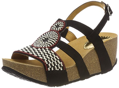 cheap best sale cheap sale hot sale Desigual Women's Shoes_odisea Africa Bn Sling Back Sandals Black (2000 Black ) low cost online buy cheap 2014 new cheap sale in China E33bB