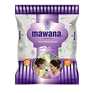 Mawana Premium Fine Grain Sugar, 1kg