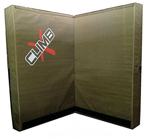 Double X Pad (Green) (Rock Climbing Crash Pad)