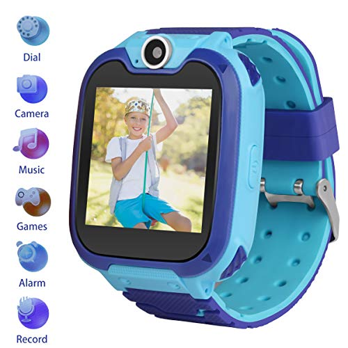 Kids Smartwatch Children Phone Smart Watch Two-Way Call Games Camera Music Player 1.54 inch Touch Screen Boys Girls Gift …