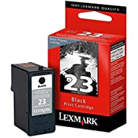 Lexmark 23 (18C1523) Black OEM Genuine Inkjet/Ink Cartridge - Retail by Lexmark