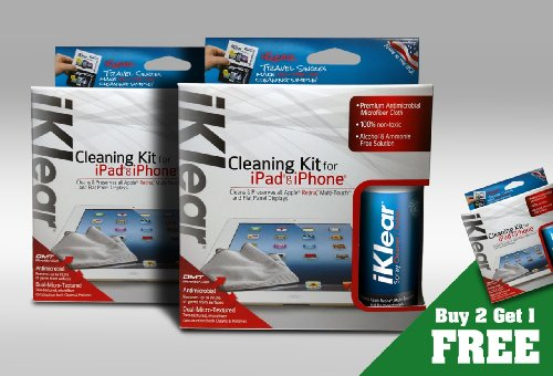 iKlear iPad Cleaning Kit Pack