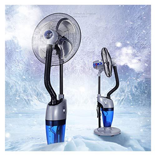 Humidifier Industrial Cooling Fan Pedestal Fan Pivoting Fan Quiet Tower Atomization Head Add Water Misting Silent Business Fan 4 Speed Air - Pivoting Pedestal