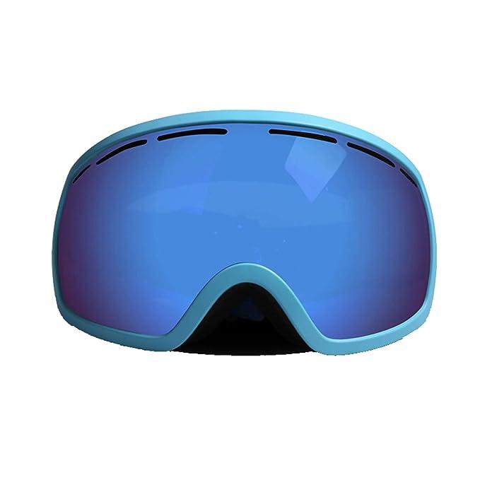 Beydodo Gafas de Esqui Gafas Hombre Retro Gafas Ciclismo Antiviento Azul Gafas de Seguridad Gafas Seguridad