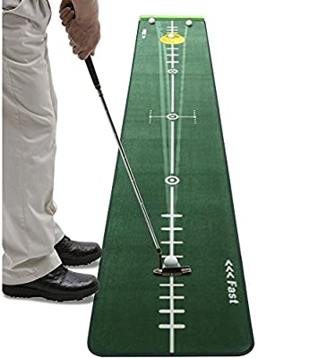 Track Putting Mat Edition 300cm 50cm GOLF putting green Realistic Silicone Putting-Cup
