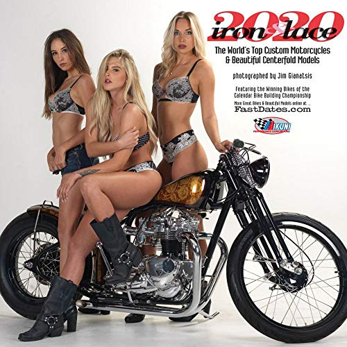 IRON & LACE 2020 Custom Bikes and Sexy Centerfold Models