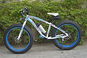 Amazon.com: Gloworks Fat TIRE Electric Mountain Bike: Toys