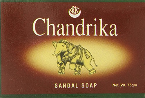 Chandrika Soap Sandal Soap, 75 (Chandrika Sandalwood Soap)
