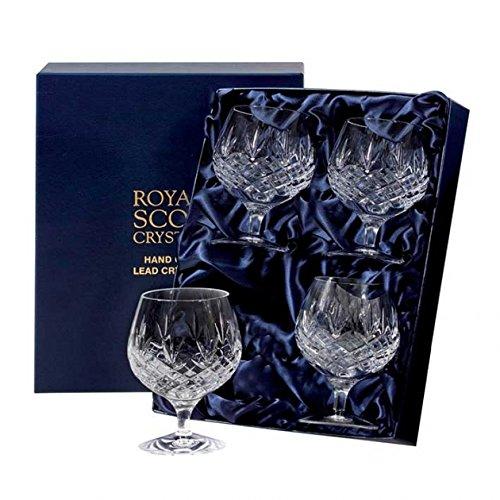 Royal Scot Edinburgh Brandy Glasses - Set Of 4