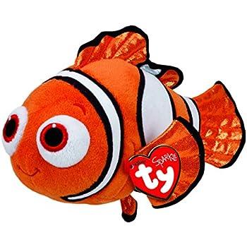 Ty Beanie Babies Finding Dory Nemo Regular Plush