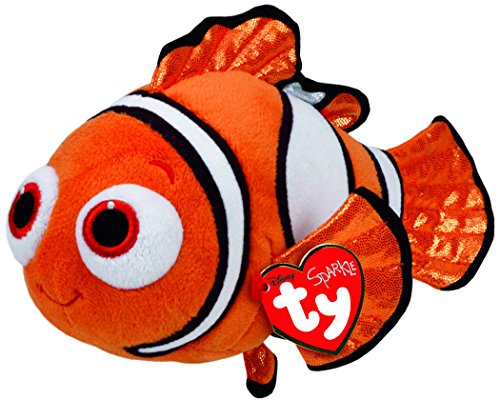 Ty Beanie Babies Finding Dory Nemo Regular Plush