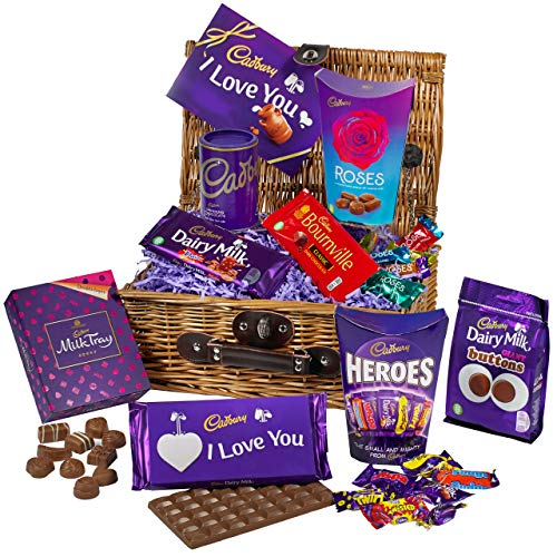 Cadbury Chocolate Valentine Basket