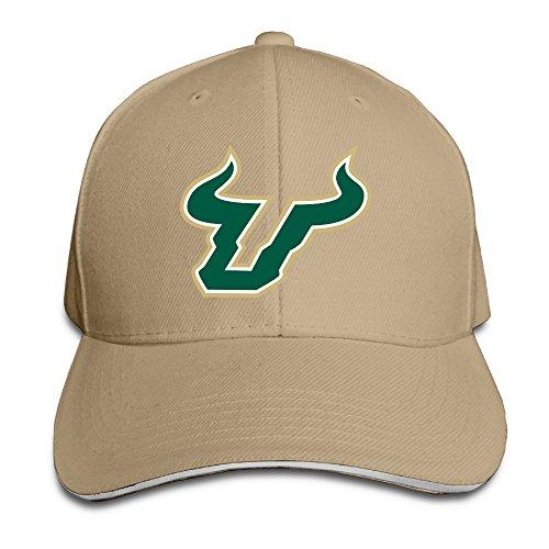 (South Florida Bulls Raymond James Stadium Sandwich Peaked Cap Style Hat)