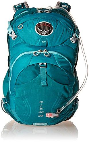 Osprey Packs Women's Mira AG 26 Hydration Pack, Bondi Blue, Small/Medium