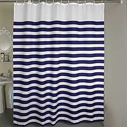 96 Inches Extra Wide Shower Curtain Welwo Fabric Water Repellent