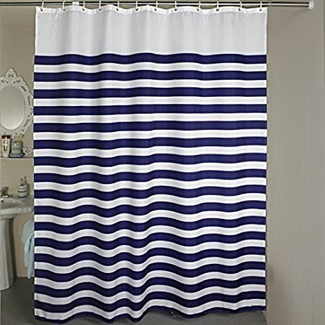 Shower Curtain Extra Wide 84 X 78 Inches Welwo Fabric Liner