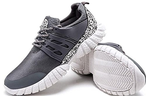 Shoes Leather Colorful Gray Breathable Shoes Casual Men Artificial 's Sports Fashion WzqwyKKgxY