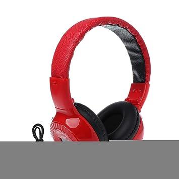 Ruda - Auriculares estéreo inalámbricos con Bluetooth, Radio FM ...