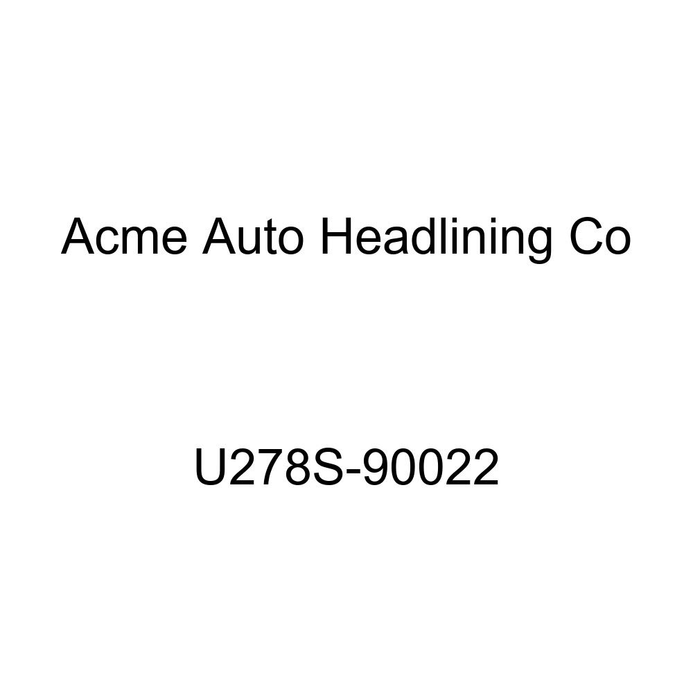 Acme U278S-90022 Front and Rear Palomino Vinyl Bench Seat Upholstery
