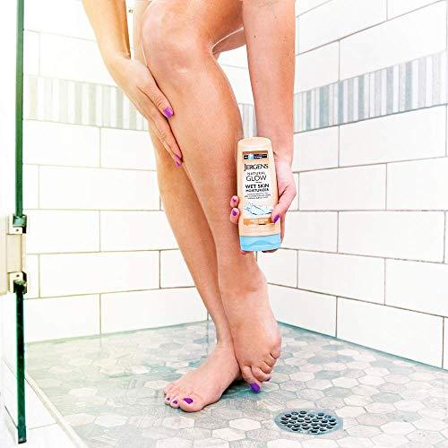 Jergens Natural Glow In-shower Moisturizer, Self Tanner, Fair to Medium Skin Tone Sunless Tanning, 7.5 Ounce Wet Skin… 6