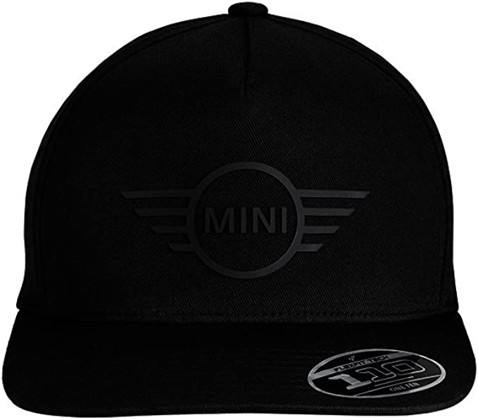 MINI Genuine JCW Rubber Logo Baseball Flexfit Snapback Cap 80162454532