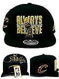 adidas Cleveland Cavaliers New NBA Finals Trophy Always Believe Finally Black Era Snapback Hat Cap