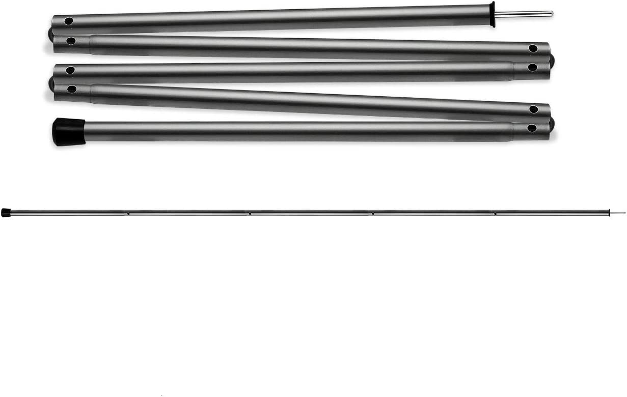 Adjustable Tarp Poles Set of 2
