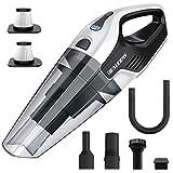 Cordless Handheld Vacuum, 8Kpa Hand Vacuum Cleaner with Multi-Functional Accessories, 14.8V Lithium