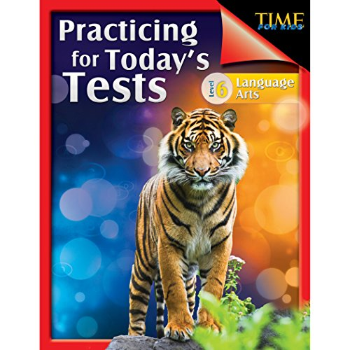 Book cover from TIME For Kids: Practicing for Todays Tests Language Arts Level 6 by Teacher Created Materials