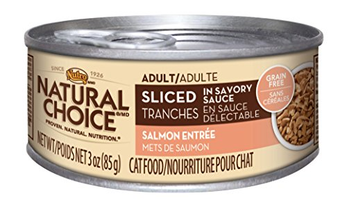 Nutro Natural Choice Sliced Salmon Entree Canned Adult Cat F