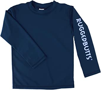 Navy Rash Guard Shirt Boy/'s UPF 50