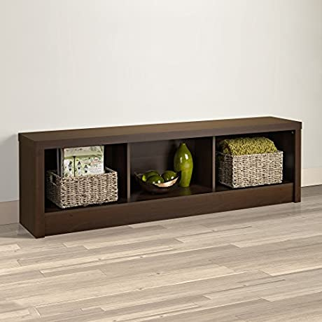 Series 9 Designer Espresso Storage Bench