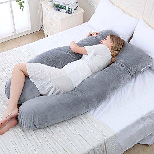 Meiz U Shaped Pregnancy Body Pillow Body Pillows