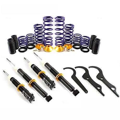 Lowering Suspension Coilover Kit Shock Struts For VW Golf MK2 MK3 Vento and Corrado 741005
