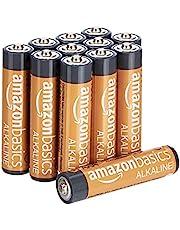 AmazonBasics AAA alkalinebatterijen (pak van 12 stuks) - verpakking kan variëren