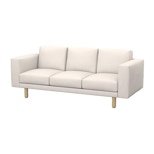 Soferia - IKEA NORSBORG Funda para sofá de 3 plazas, Eco ...