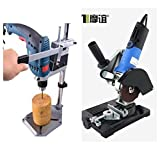 UNIVERSAL COMBO OF DRILL STAND + DRILL MACHINE & GRINDER STAND + 850W ANGLE GRINDER.