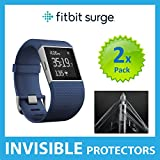 Fitbit Surge Screen Protector (PACK of 2) SmartWatch Screen Protectors with Military Grade Protection Exclusive to ACE CASE