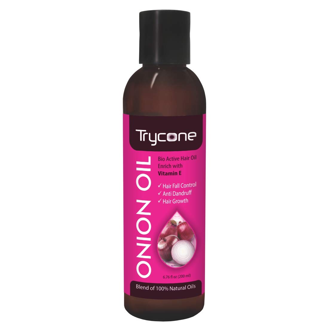 Buy Trycone Onion Hair Growth Oil with Vitamin E, 100% Natural