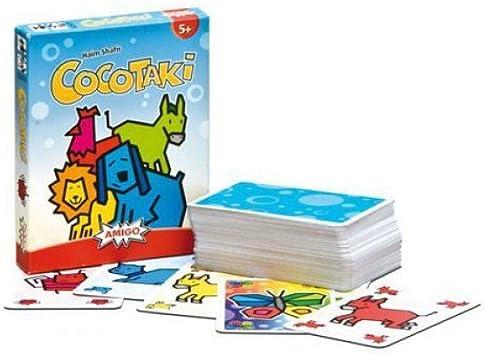 jeu de carte enfant Gigamic   AMCOCO   Jeu de Cartes d'action et de Réflexe pour