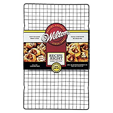 Wilton Recipe Right 16 Inch x 10 Inch Non-Stick Cooling Grid