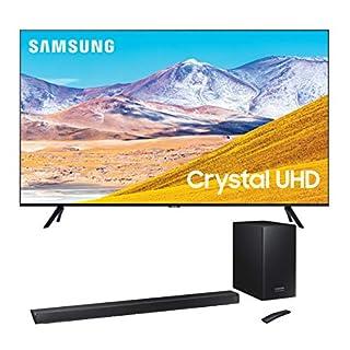 "Samsung UN65TU8000 65"" 8 Series Ultra High Definition Smart 4K Crystal TV with a Samsung HW-Q60R 5.1 Channel Harman Kardon Samsung Acoustic Beam SoundBar"