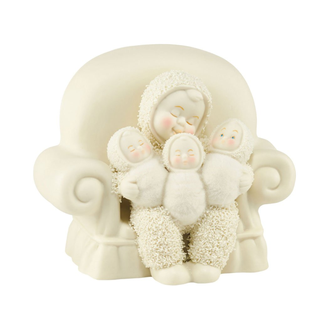 Department 56 Snowbabies Classics Triple Treat Figurine, 3.66
