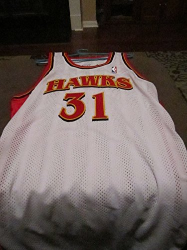 (2003 Atlanta Hawks signed Jason Terry Game Used Jersey )