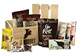Paleo Snack Gift Crate – 9 Healthy Paleo Snacks – Comes in a Wooden Gift Crate – Great Gift For Men – Paleo Friendly – Snack Gift – Paleo Diet