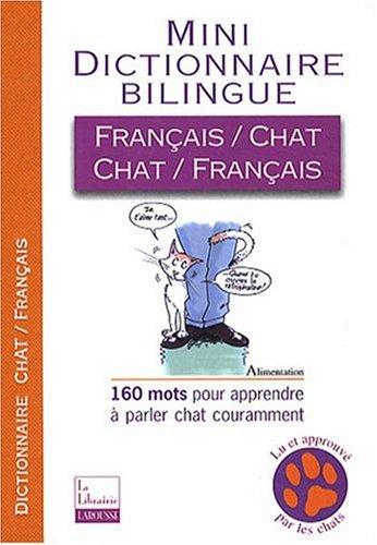 Mini-dictionnaire bilingue français-chat/chat-français por Jean Cuvelier